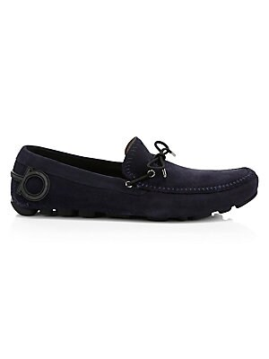 948b8cdce58 Swims. Braided Lace Rubber Loafers.  195.00 · Salvatore Ferragamo - Atlante  Suede Drivers with Gancini Heel