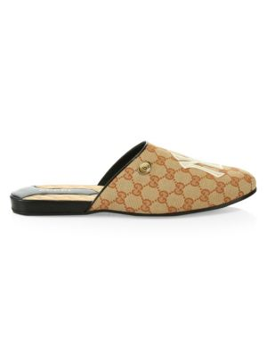 8c2137820560 Gucci - Princetown Leather Slipper With Double G - saks.com