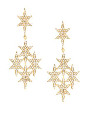 JULES SMITH North Star Drop Earrings in Gold