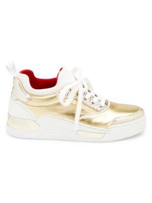 Aurelien Donna Sneakers in Gold