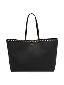 5bc1d71eb19 QUICK VIEW. Valentino Garavani. Rockstud Leather Tote