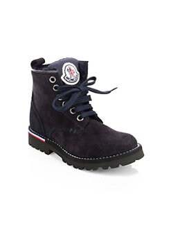 639268d4d0 Moncler. Kid's Mika Suede Hiking Boots