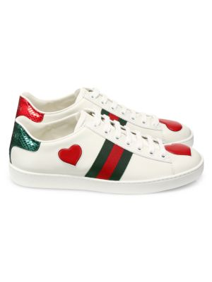 498283cd5a5 new-ace-heart-leather-sneakers by gucci