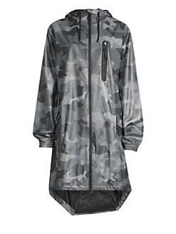 29b4c4c06658f Rains. Camo-Print Raincoat