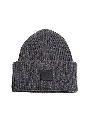599d5f7022c Acne Studios - Pansy L Ribbed Wool Beanie - saks.com