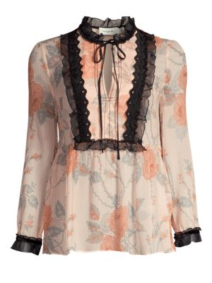 Coach Coach 1941 Rose Print Blouse