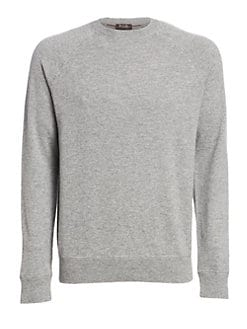 dbe093f7f97 Silverstone Cashmere Crewneck Sweater GREY. QUICK VIEW. Product image