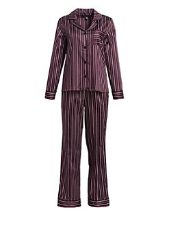 cc7533506f3 QUICK VIEW. Saks Fifth Avenue. COLLECTION Cotton Two-Piece Striped Pajama  Set