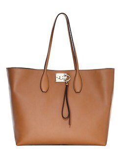 d2022b027a QUICK VIEW. Salvatore Ferragamo. Medium Studio Leather Tote