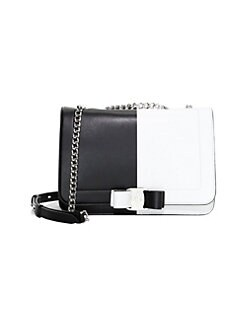 a413848928 QUICK VIEW. Salvatore Ferragamo. Vara RW Colorblock Leather Shoulder Bag