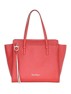 9f65c7ae55bf Product image. QUICK VIEW. Salvatore Ferragamo. Medium Amy Leather Tote Bag
