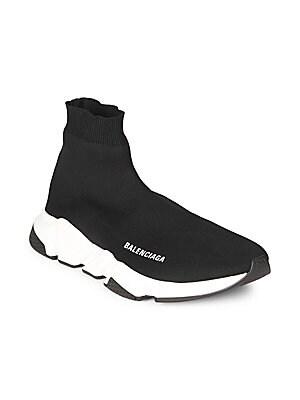 f2e1993045bd Balenciaga - High-Top Speed Sock Sneakers - saks.com