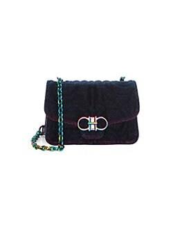 Product image. QUICK VIEW. Salvatore Ferragamo. Quilting Iridescent Shoulder  Bag 3c18478518b2e