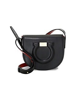 d47751e8dbdfef QUICK VIEW. Salvatore Ferragamo. City Leather Saddle Bag