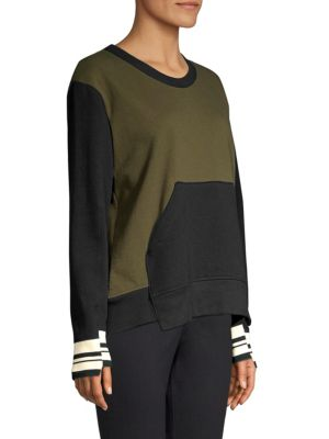 WILT Cottons Varsity Trim Sweatshirt
