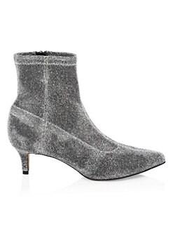 Boots. Rebecca Minkoff - Sayres Glitter Sock Boots 4397f604f299
