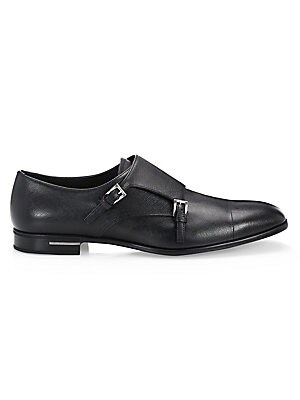 Details zu PRADA Men's Black Leather Boots Sz. 12