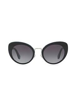 6bb89451d91 Miu Miu. 53MM Butterfly Sunglasses