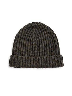 fe7d7ff2e37 Burberry - Fisherman-Knit Cashmere Beanie - saks.com