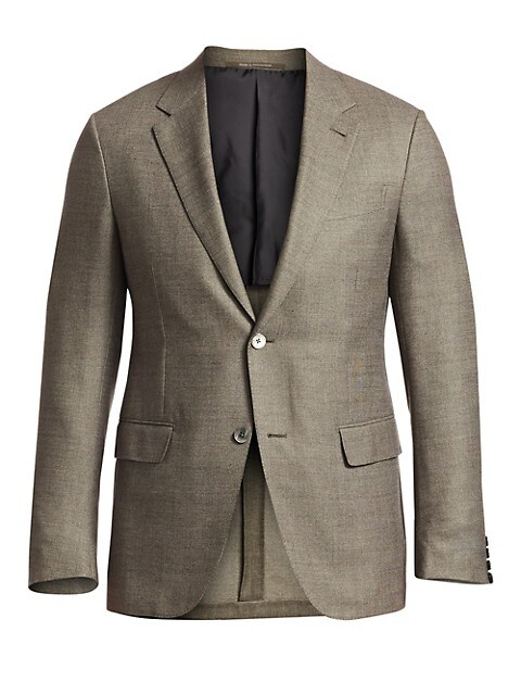Wool Fitted Sportcoat