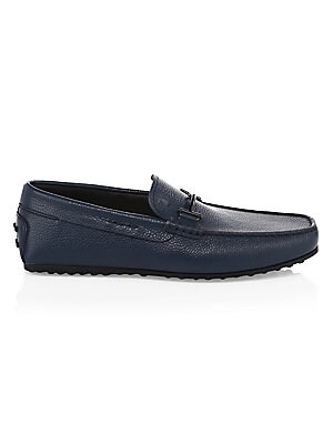 06dc486be8b Tod s - Doppia T Gommino Leather Driving Loafers - saks.com