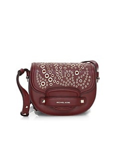 b5792c41cafa4 Product image. QUICK VIEW. MICHAEL Michael Kors. Cary Grommet Leather  Saddle Bag