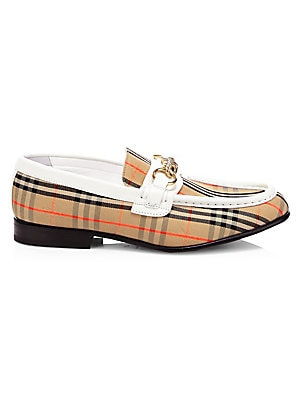 495db249d36 Burberry - Moorley Leather Loafers