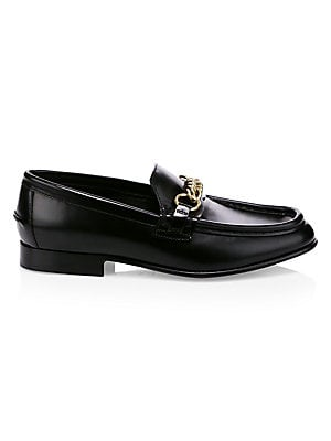 0917cc6b4f05ae Roger Vivier - Leather Buckle Loafers - saks.com