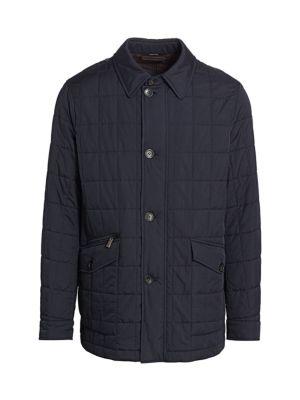 Ermenegildo Zegna Jackets Quilted Barn Jacket