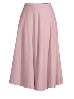 Cabras Full Circle Midi Skirt in Pink
