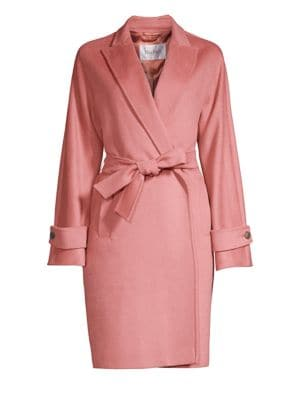 Nevada Belted Wrap Coat by Max Mara