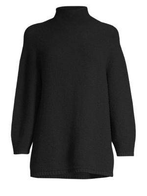 Etrusco Wool & Cashmere Mockneck Sweater by Max Mara