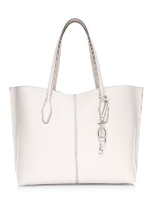 Large Joy Hammered Leather Tote by Tod's