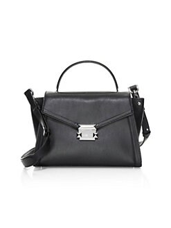 5ab13797be327 Product image. QUICK VIEW. MICHAEL Michael Kors. Medium Whitney Leather  Satchel