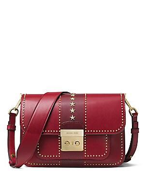 e381e602a03b4 MICHAEL Michael Kors - Large Sloan Editor Leather Shoulder Bag - saks.com