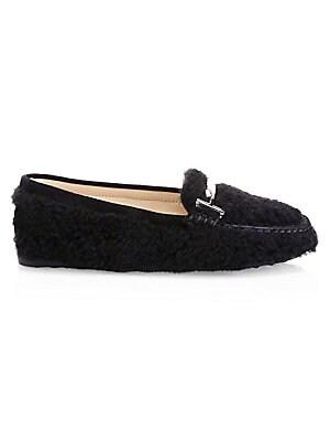 fc7bdb5aa30 Distressed Denim Loafers.  695.00 · Tod s - Gomma Lu Doppia Suede    Sheepskin Loafers