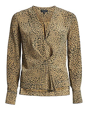 a62e3b1a337e27 Rag   Bone - Shields Leopard Print Blouse - saks.com
