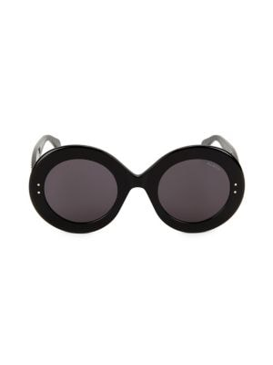 9cf5dad80f Ala  239 a Le Round Clou 50MM Oversized Round Sunglasses