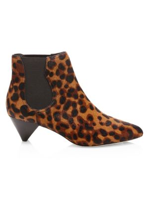 Barleena Calf Hair Ankle Boots by Joie