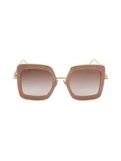 b550590117f QUICK VIEW. Bottega Veneta. DNA 51MM Oversized Square Sunglasses