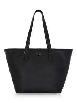 Jackson Street - Jana Leather Tote - Black