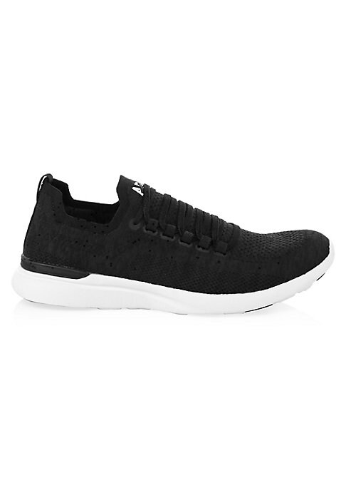 Image of Compact and athletic, these woven sneakers lend a breathable range of motion for running. Techloom upper. Round toe. Lace-up vamp. Textile lining. Propelium midsole. Rubber sole. Imported.
