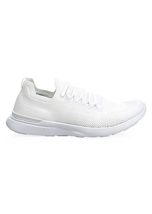 Image of Breathable, ultra-light mesh sneakers with a contemporary, sport-luxe look. Mesh upper. Reinforced round toe. Lace-up vamp with speed lacing system. Propelium? rubber sole. Imported.