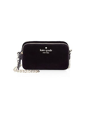 Small Bag New Crossbody York Spade Velvet Holly Kate n0X8wkOP