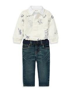 Product image. QUICK VIEW. Ralph Lauren. Baby Boy\u0027s ...