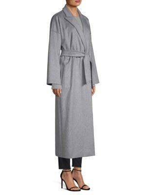 MAX MARA Cashmeres Teti Drop Shoulder Cashmere Wrap Coat