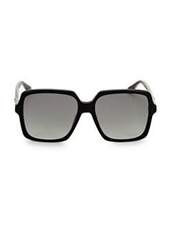 220fd45dc71 QUICK VIEW. Gucci. 56MM Square Acetate Sunglasses