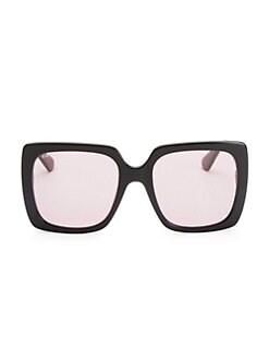46c75a10a100 Gucci. 54MM Square Sunglasses