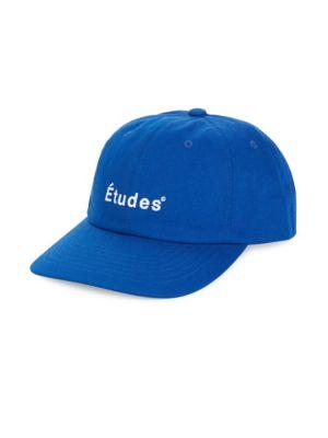 ETUDES STUDIO Blue Logo Embroidered Baseball Cap