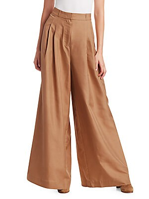 Unbridled Silk Wide Leg Pants by Zimmermann